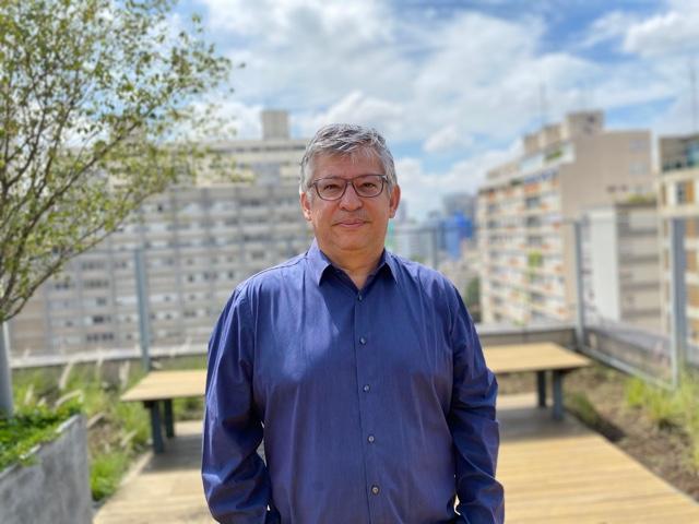Vice-presidente de Comunicação da CBL, Luciano Monteiro (Foto: Miguel Singer/CBL)